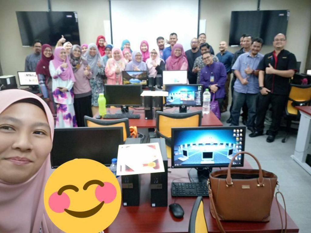 Kursus ICT percuma : AppsMoment di UiTM Tapah Perak