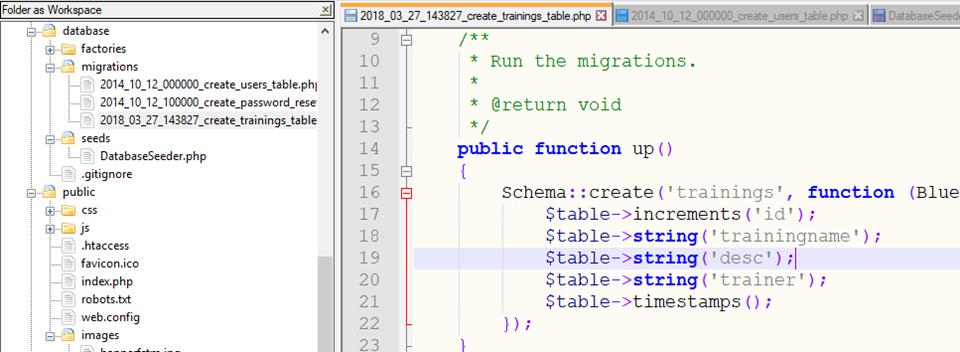 code-to-create-new-table-schema-laravel