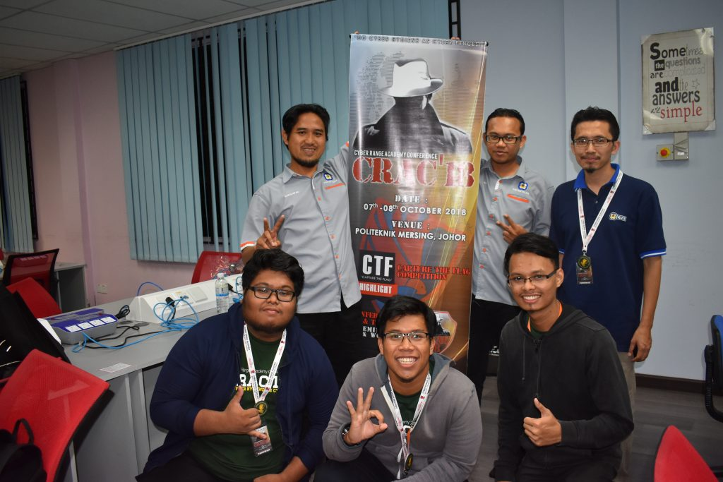 Crac18 Cyber Security Hack and Defense Politeknik Mersing