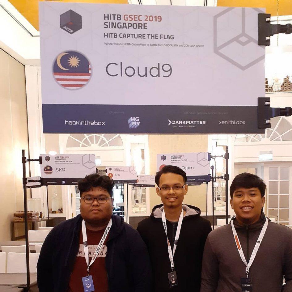 Cloud9 HITB-SG 2019 Hack in the Box Singapore - Jalur gemilang