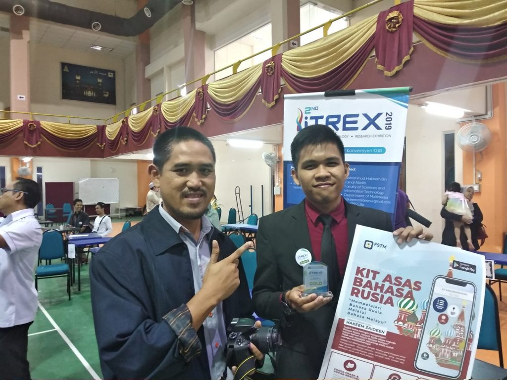 itrex2019 gold award learn basic russian app for malay