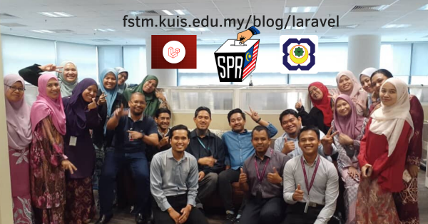 Kursus Laravel di SPR Putrajaya Malaysia Feb 2020