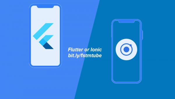 Flutter vs Ionic (bahasa Melayu)